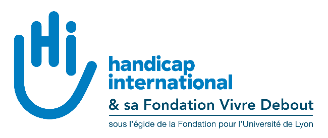 Logo de la Fondation Vivre Debout - Handicap International