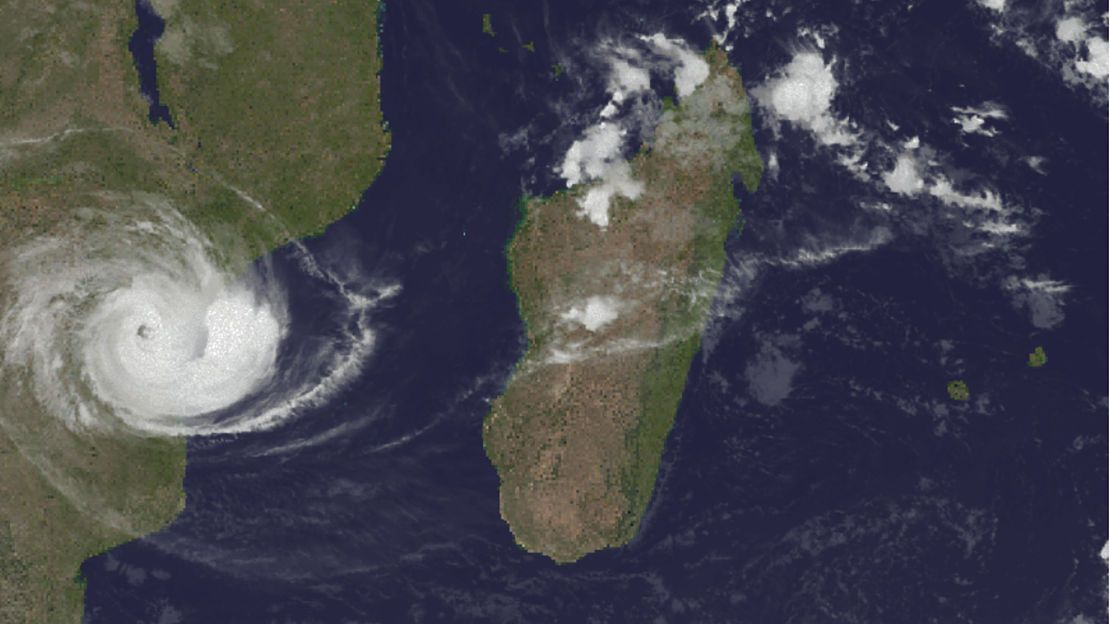 Image satellite, Cyclone IDAI, 15 mars 2019. Source : Cyclocane.