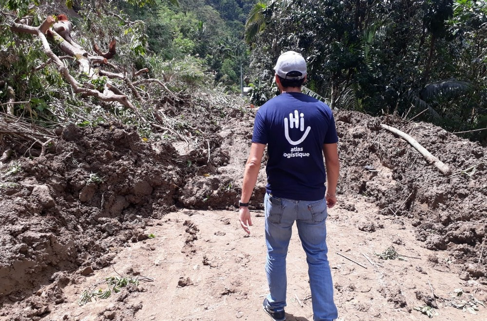 Mission de Handicap International aux Philippines suite au typhon Mangkhut