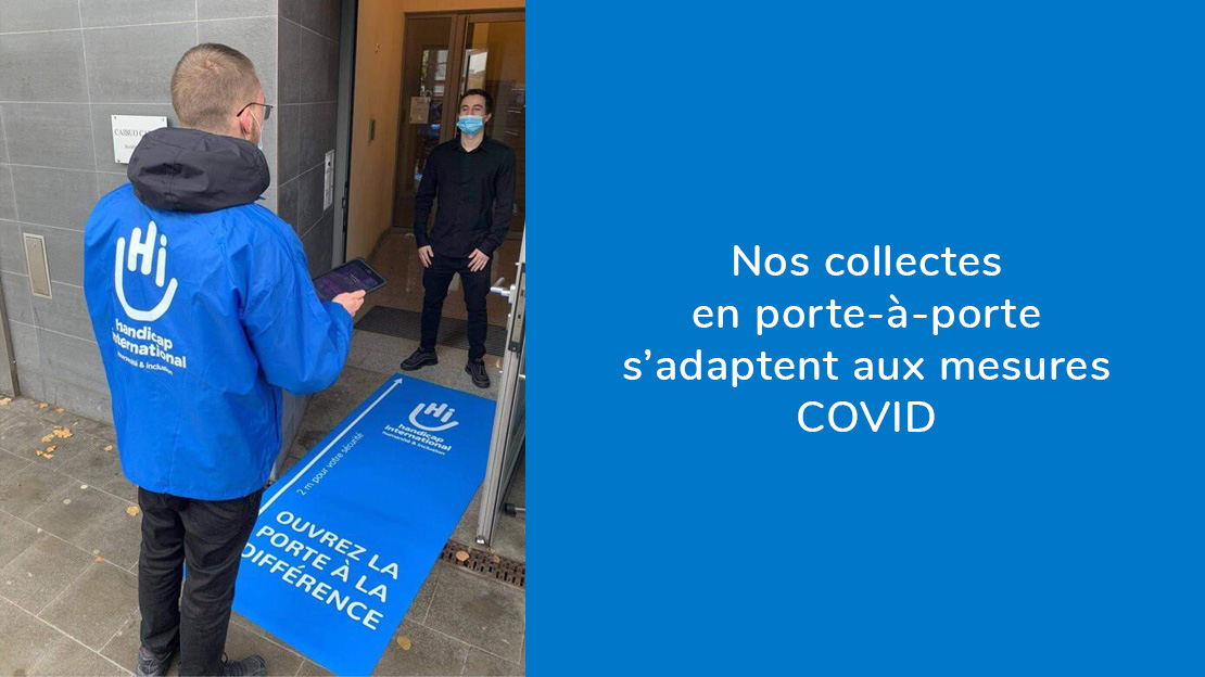 Les collecteurs de Handicap International