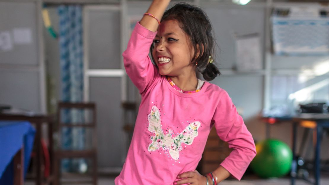 "Nirmala, 8: ""I'll be a great actress when I grow up"""